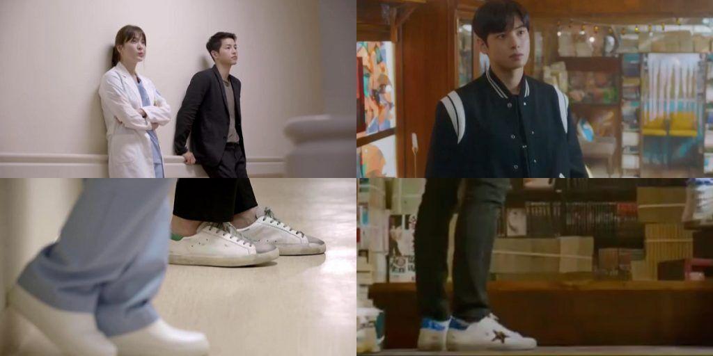 韓劇男主角都選擇golden goose的小髒鞋出鏡
