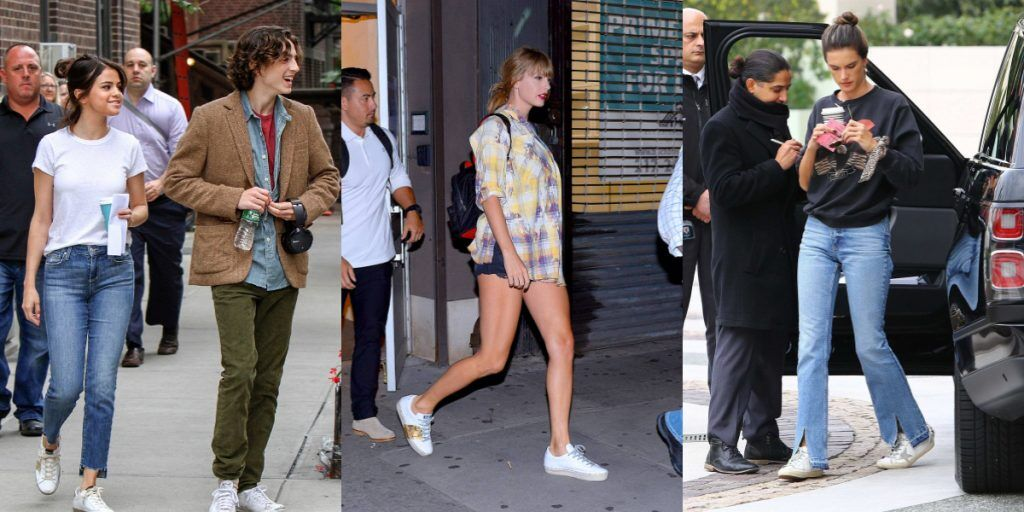 golden goose的小髒鞋是Selena Gomez、Taylor Swift、Alessandra Ambrossio 這些明星私底下的愛鞋