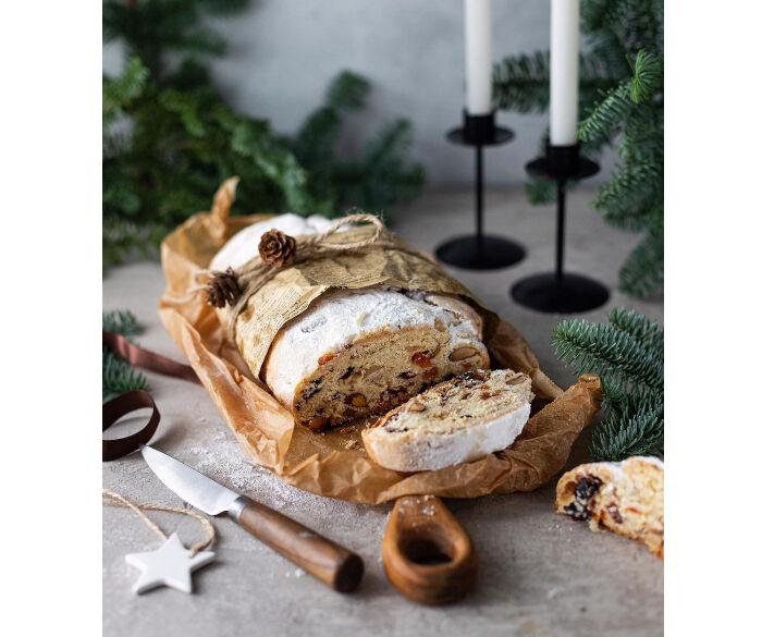 德國人用來慶祝聖誕節的麵包被稱為史多倫Stollen
