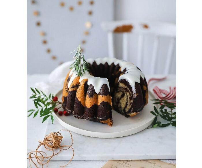 奧地利和法國最受歡迎的耶誕麵包庫克洛夫Gugelhupf