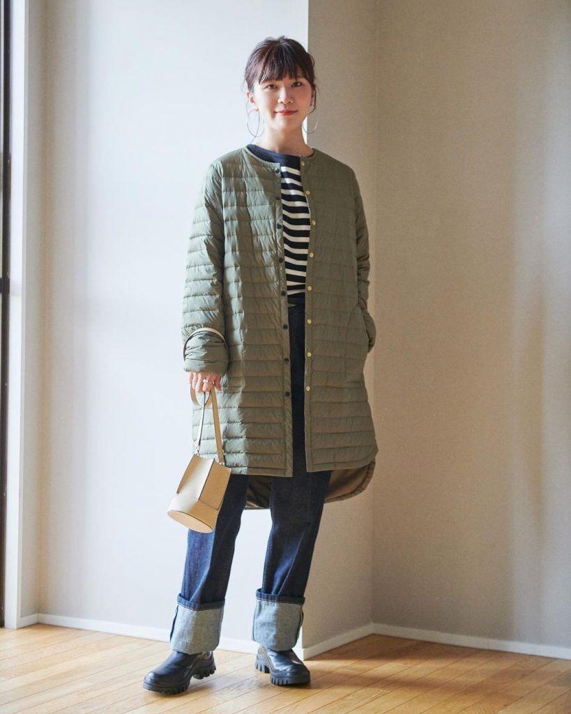 寒流發威,绗縫大衣外套被日本潮人封為冬季禦寒聖品,其中包覆效果最強的絎縫外套是絎縫服飾中最保暖的一種選擇