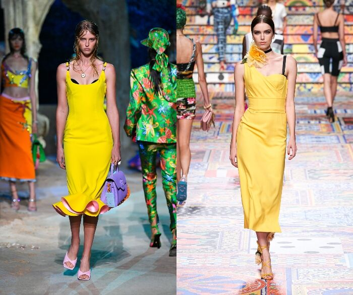 Pantone、2021代表色、 Pantone 2021年度代表色、極致灰、亮麗黃、色票、亮麗黃穿搭、黃色穿搭、灰色穿搭、off-white
