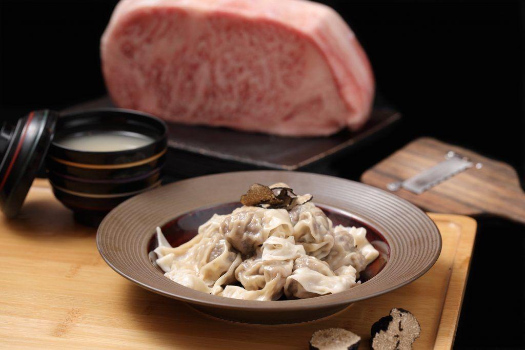 【台北牛肉麵推薦 2】A5和牛牛肉麵與松露雲吞:樂軒PREMIUM