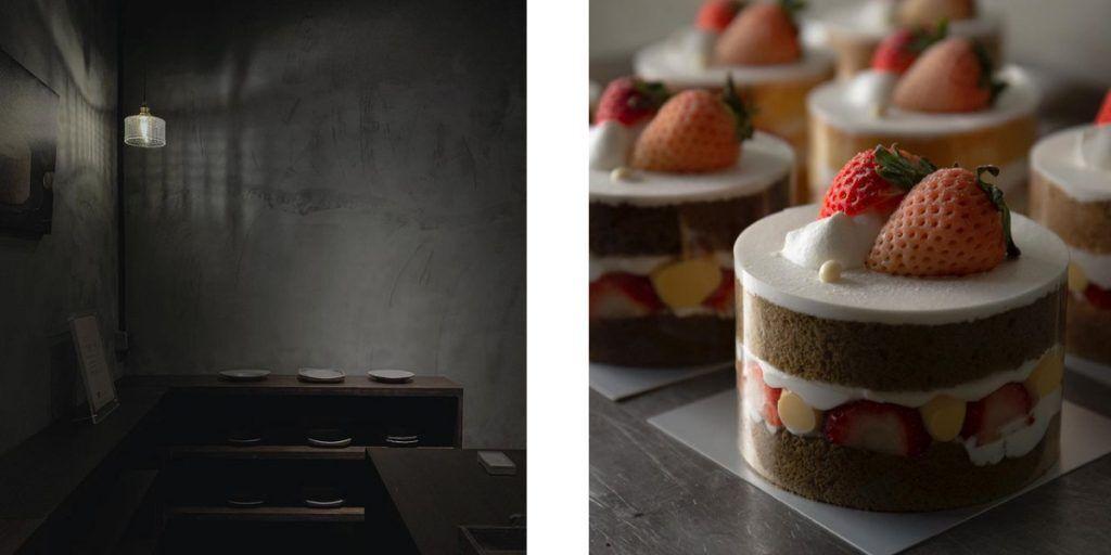 貳林,七層草莓巧克力蛋糕,夾德島草莓芋泥蛋糕、糖蜜草莓鮮奶油小戚風蛋糕,草莓甜點推薦,草莓蛋糕推薦