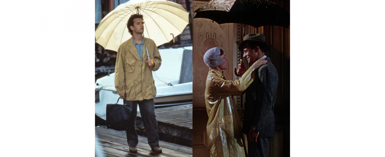 四座城市、四部關於雨天的電影橋段~ 美國精品傘具 rainsmith 城市系列,打造出傘下的情感雨景