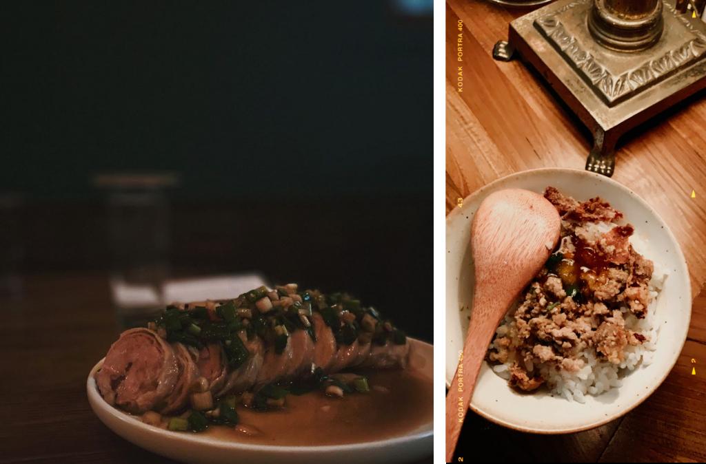 【台南老宅酒吧推薦 2】Bar INFU:百年老宅的微醺時光,用一晚下酒的瓜仔肉飯使饕客流連
