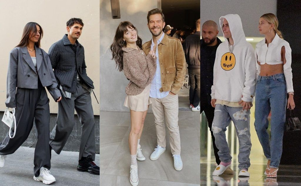 Hailey Biber and Justin Biber like to wear same color outfit as their couple's looks, 小賈斯汀和Hailey Biber喜歡穿一樣配色的服裝打造情侶穿搭