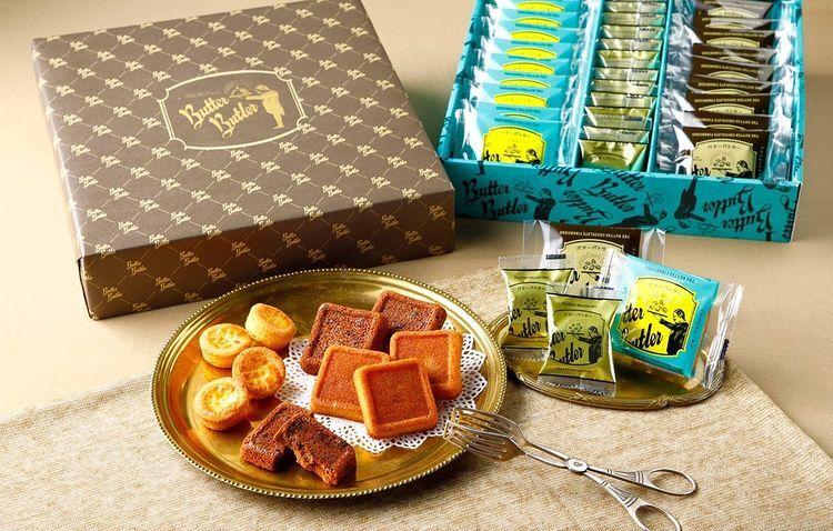 禮盒、Butter Butler、奶油費南雪、奶油圓酥餅