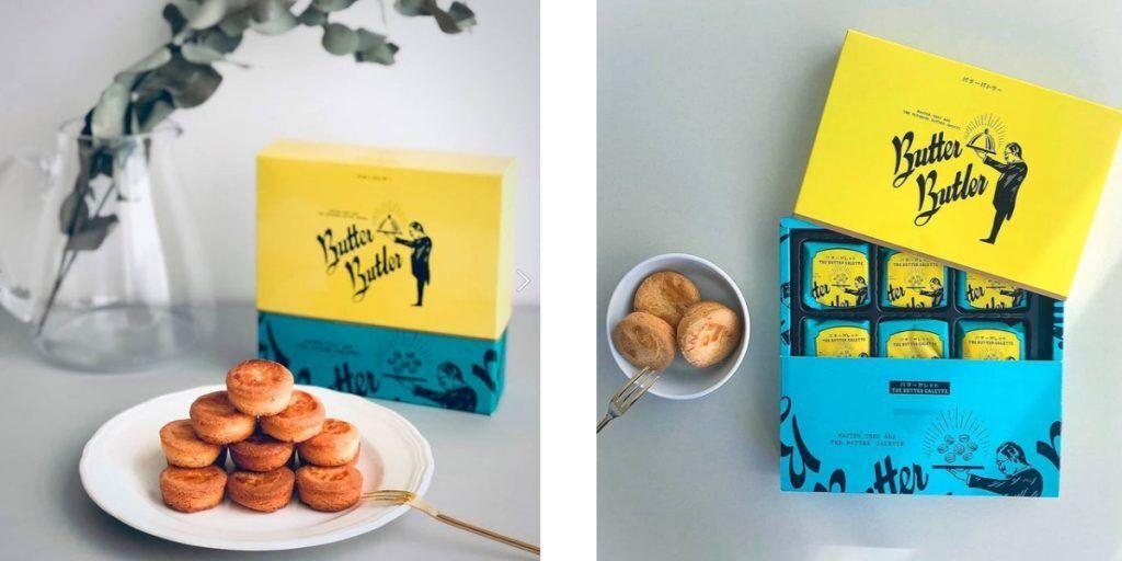奶油小圓酥餅、禮盒、日式甜點禮盒