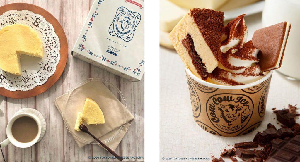 cheese cake, 東京起司工房, 霜淇淋