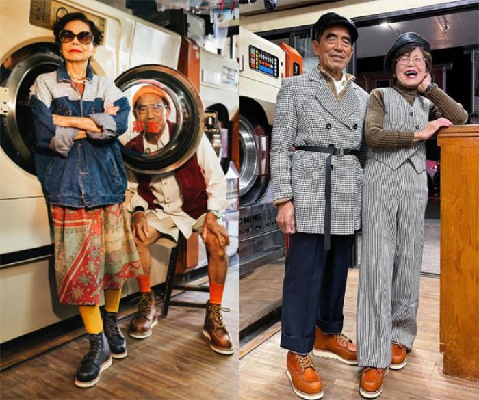 「萬秀洗衣店」台灣最潮阿公、阿嬤躍上國際舞台,主演百年鞋履品牌RED WING形象大片!