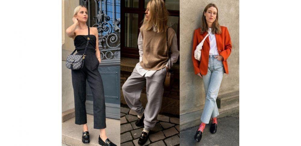 黑色「樂福鞋」大舉攻佔IG版面,15種時髦穿法,一整季天天穿也不膩