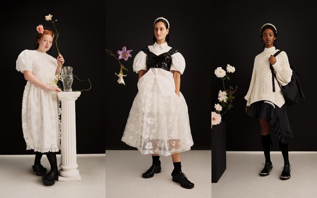 simone rocha X H&M women line lookbook