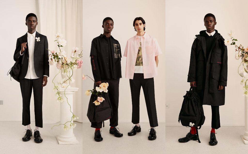 simone rocha X H&M men wear lookbook