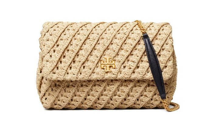 TORY BURCH Kira鉤織肩背包/25,900元