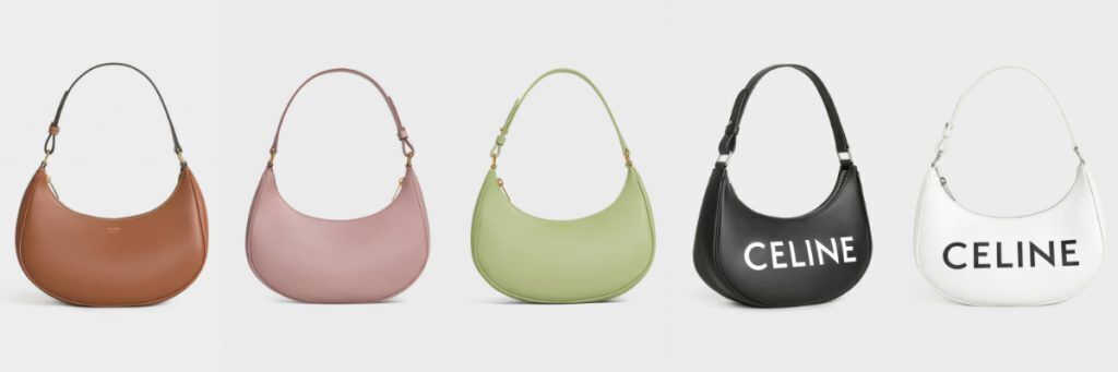 CELINE Ava Bag with 5 different colors