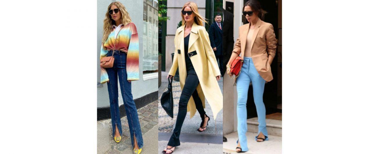 時尚-開衩褲-時尚穿搭
