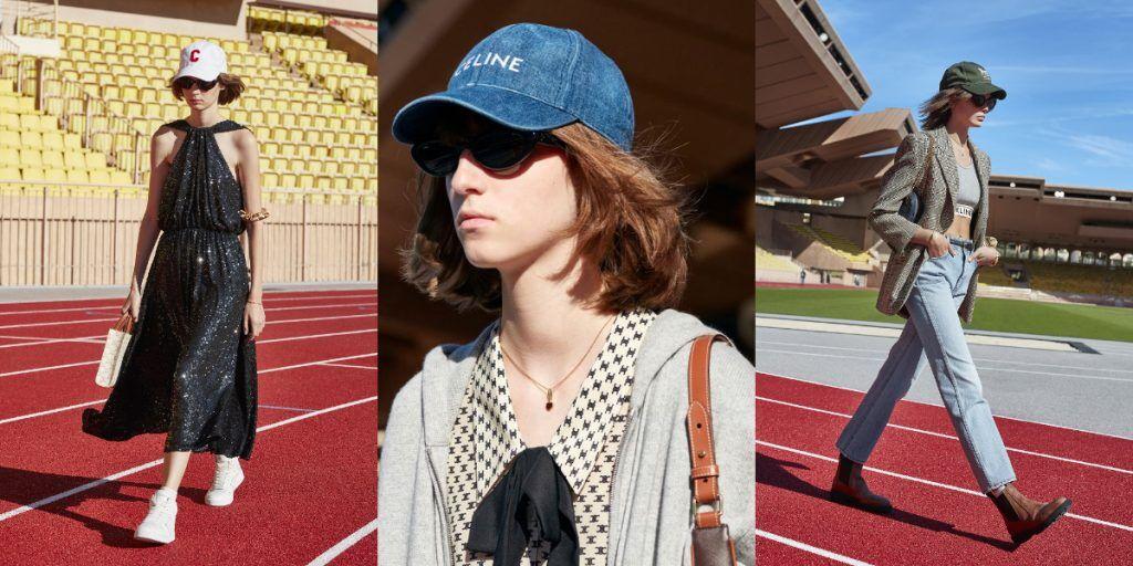 CELINE-棒球帽-時尚秀
