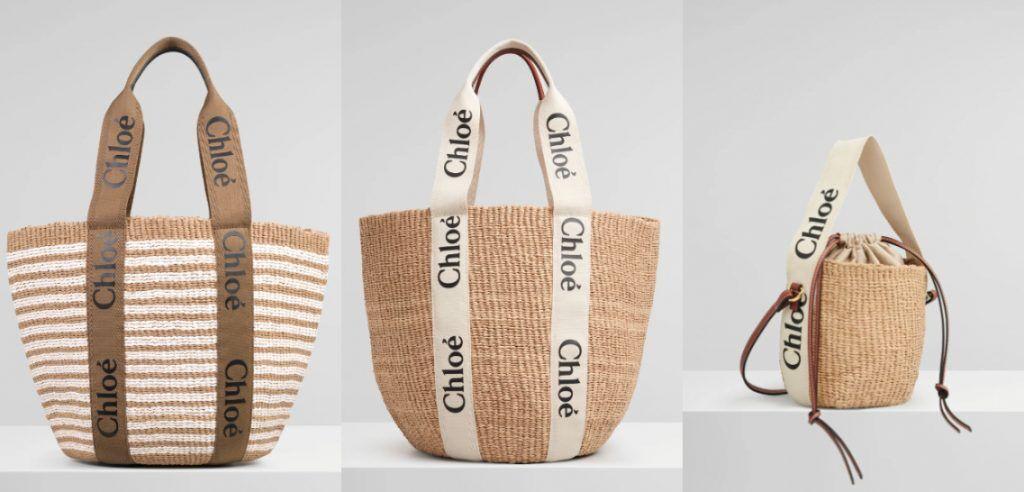 Chloé 編織包